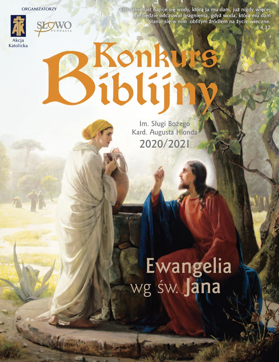 KONKURS BIBLIJNY EWANGELIA WG ŚW. JANA