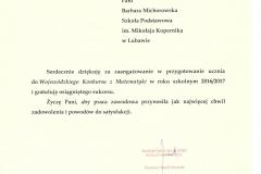 certyfikat P.Michorowska